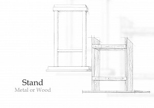 Stands - Metal or Wood
