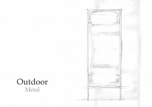 Outdoor Distorting Mirrors - Metal